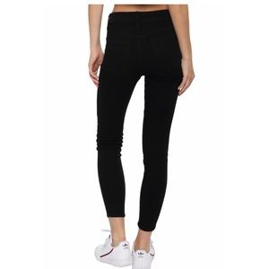 Just Black High Waisted Skinny Jeans